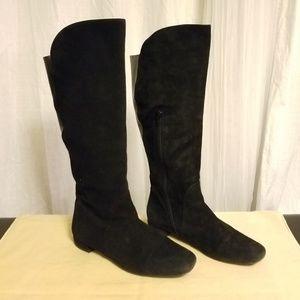 STUART WEITZMAN Suede Leather knee Boots